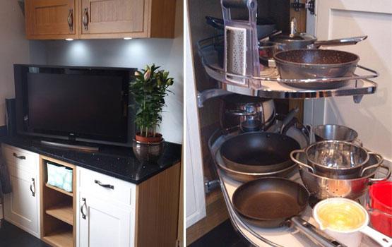 Customer kitchen mr mrs noble bridgend for High end kitchen stores